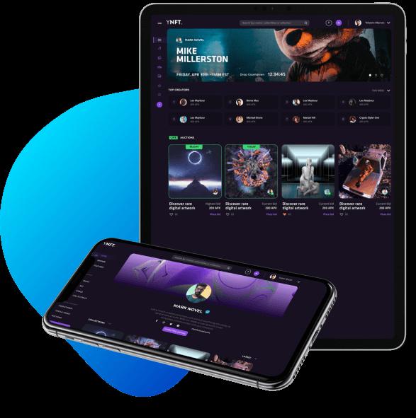 YNFT. - UI/UX Design - AIGO MEDIA